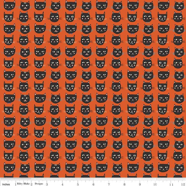 Cats, Bats and Jacks Cats Orange Glow In The Dark