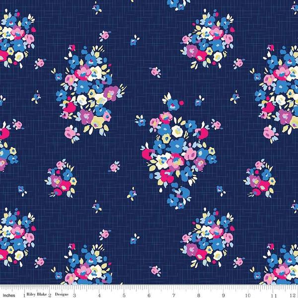 Blue Carolina Knit  K6590-NAVY