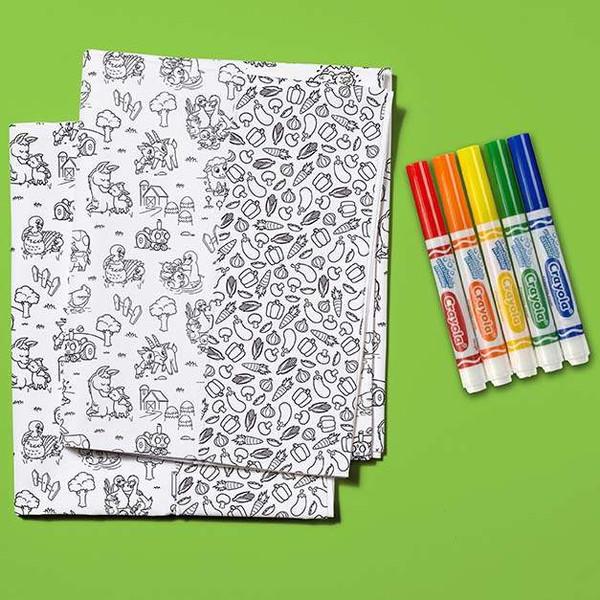 Crayola Color Me Pillowcase Kit