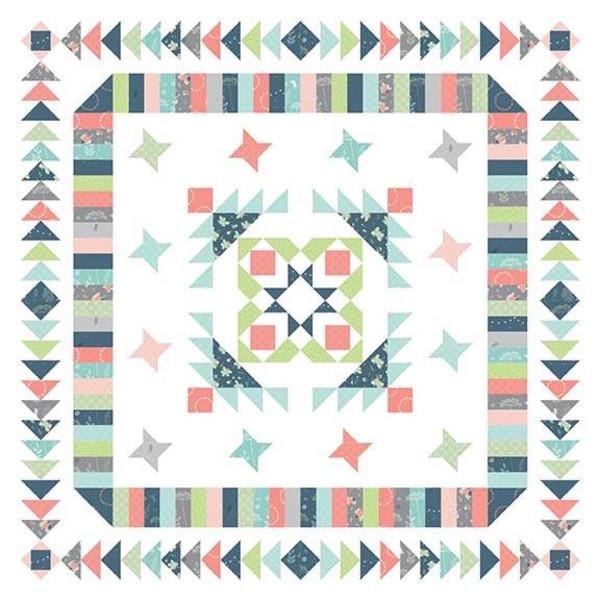 Fairy Garden Quilt Kit (60x60)