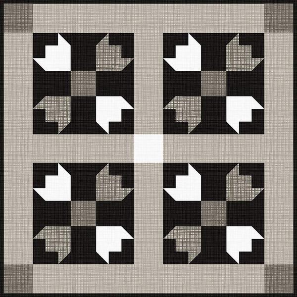 Flatiron Mini Quilt Kit