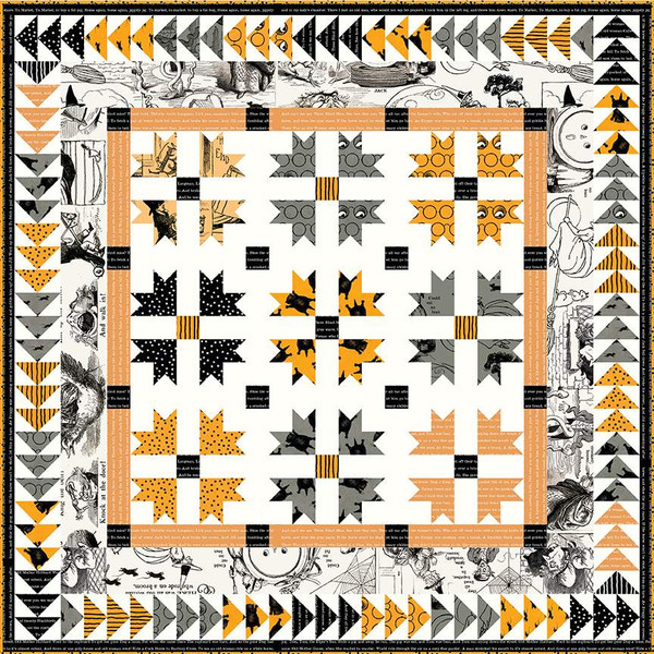 Ghoost Stories Quilt Kit