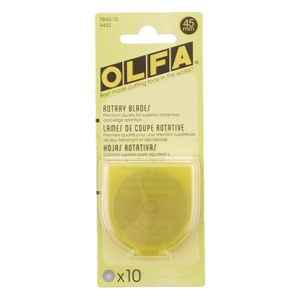 Olfa Rotary Blade 45mm 10 Pack