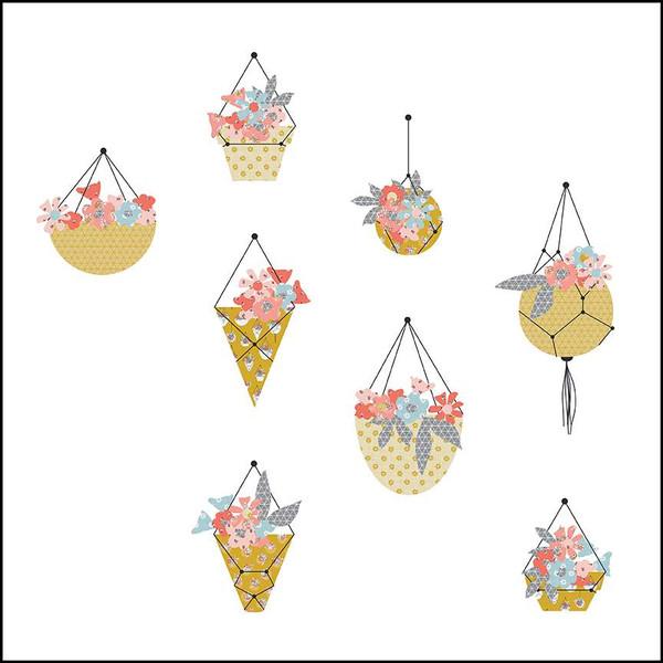 Gabrielle Neil Hanging Baskets Quilt Pattern