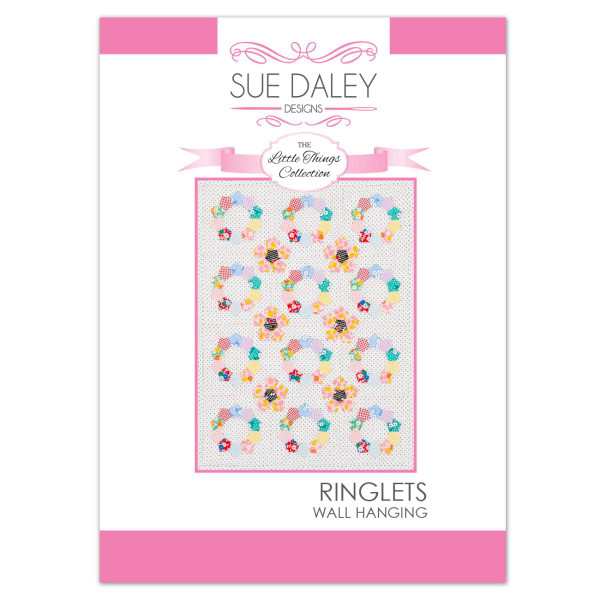 Sue Daley Designs - Little Things Ringlets Wall Hanging Pattern