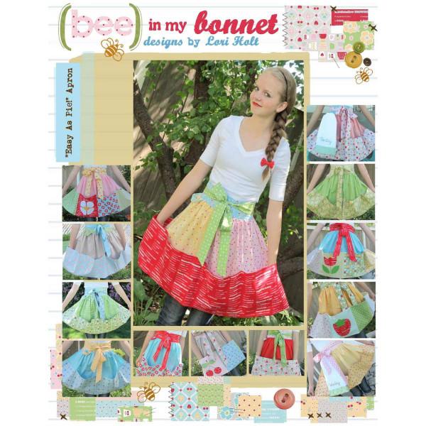 Bee in my Bonnet Easy As Pie Apron Pattern