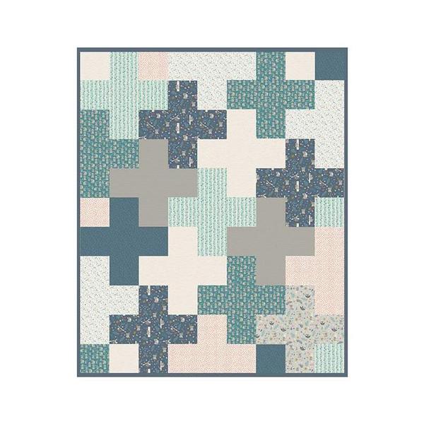 Deena Rutter Merge Quilt Pattern