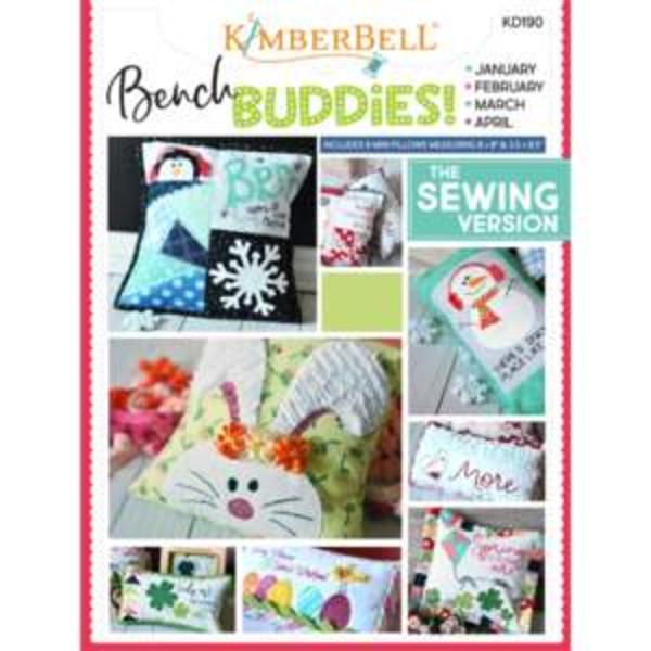 Kimberbell Bench Buddies Series (January-April) Sewing Version