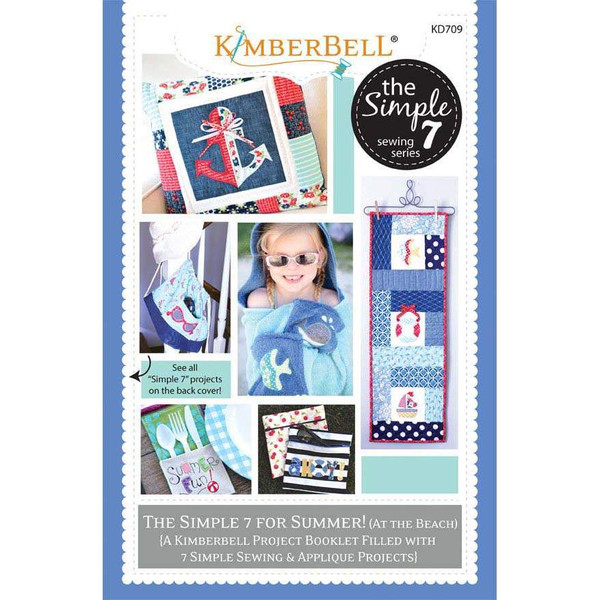 Kimberbell Simple 7 For Summer Volume 1 Pattern Booklet