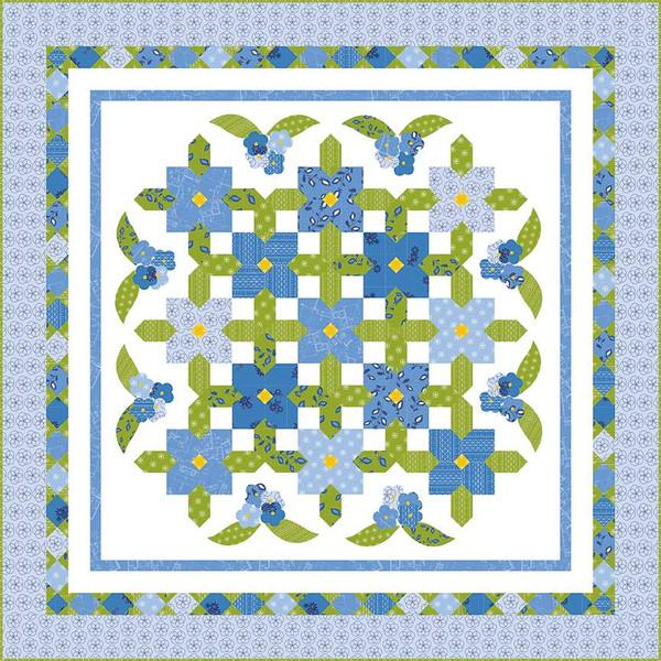 Jillily Studio Summertime Blues Quilt Pattern