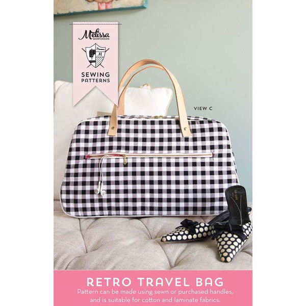 Melissa Mortenson Retro Travel Bag Pattern