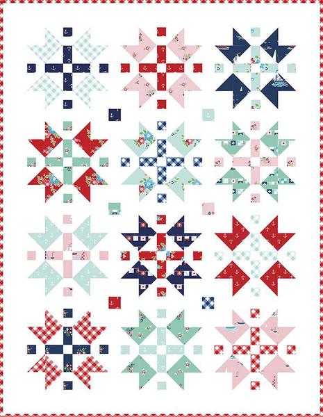 Tasha Noel Seaside Stars Quilt Kit