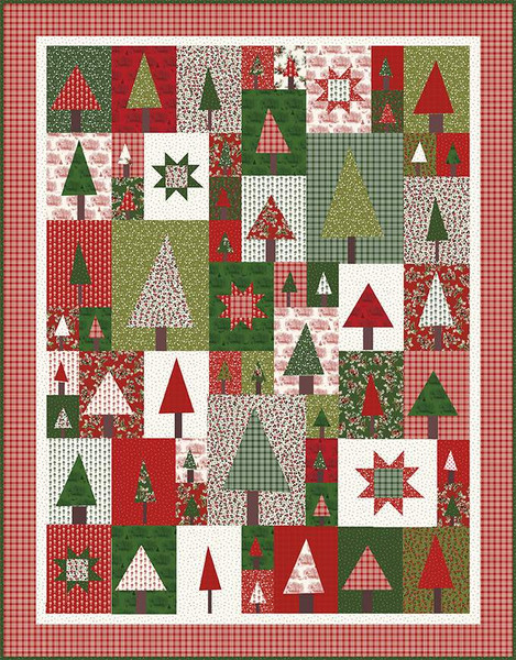 Amy Smart Patchwork Forest Quilt Pattern