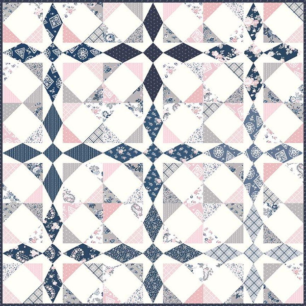 PSD-464P MAJESTIC Quilt Pattern by Gerri Robinson