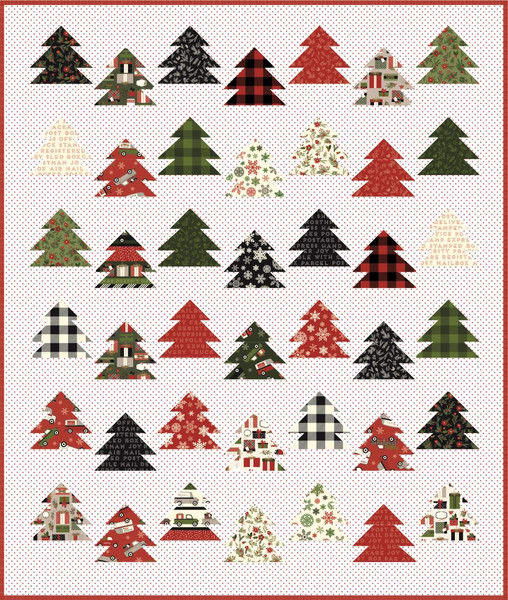 Live?Love?Sew Tree Farm Quilt Pattern
