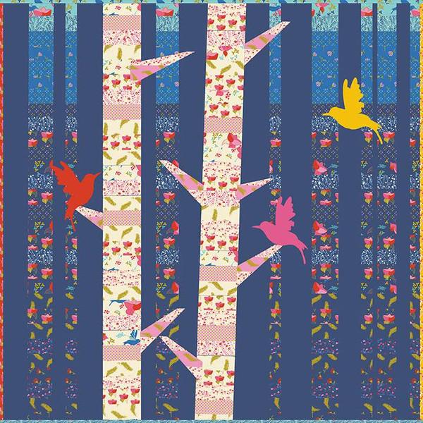 Hummingbird Chorus Quilt Pattern