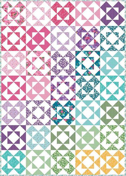 Sedef Imer Alice's Garden Quilt Pattern