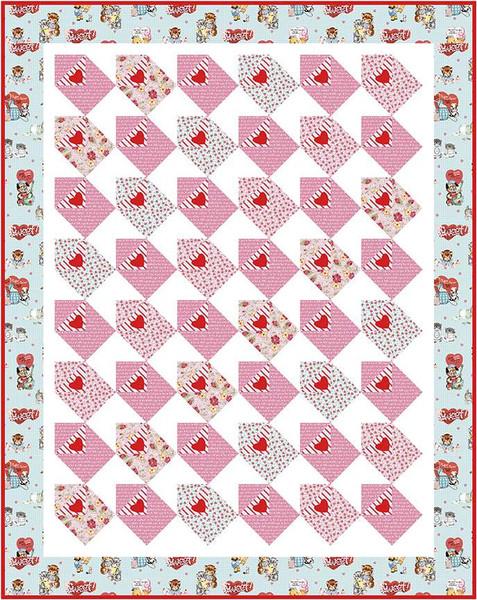 Sending My Love Quilt Pattern