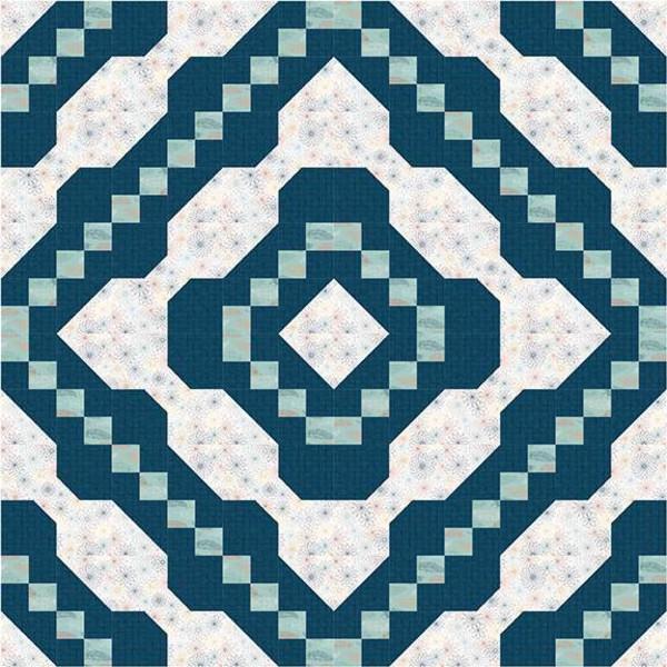 Spiral Bound Quilt Pattern