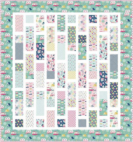 Matchsticks Layer Cake Quilt Pattern by Primrose Cottage Quilts