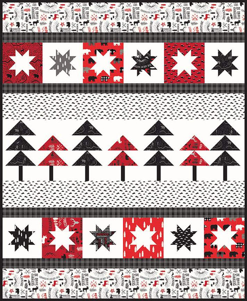 Primrose Cottage Quilts Pine Valley Quilt Pattern