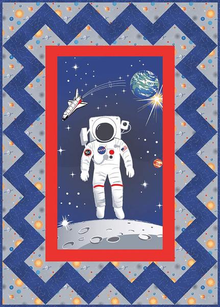Spaceman Quilt Pattern Villa Rosa Designs