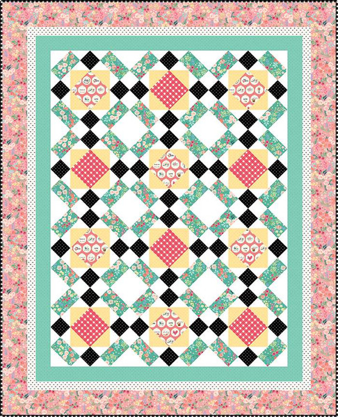 Bughouse by Hello Melly Designs Quilt Pattern #123