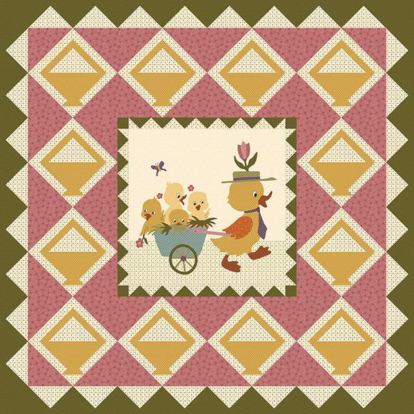 Buttermilk Basin Design Co Vintage Spring Quilt Pattern
