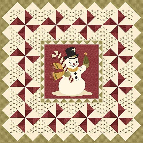 Buttermilk Basin Design Co Vintage Winter Quilt Pattern