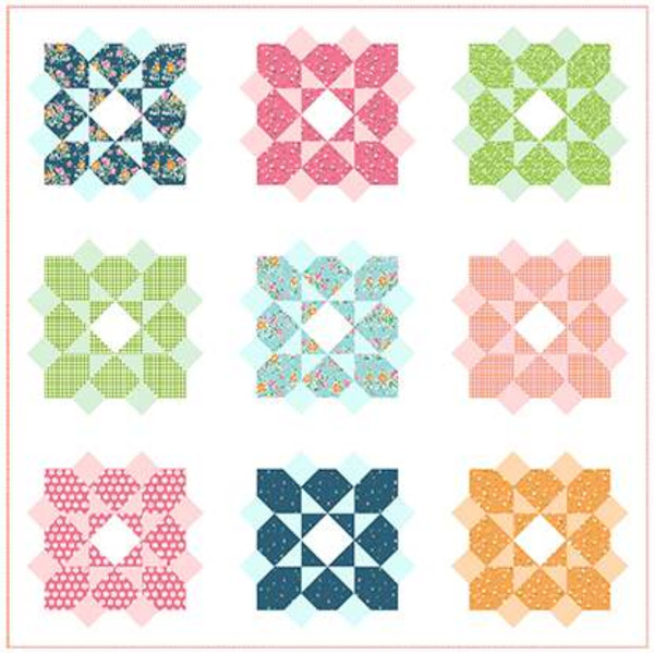 Pt -  Blossom Quilt Pattern by Gracey Larson