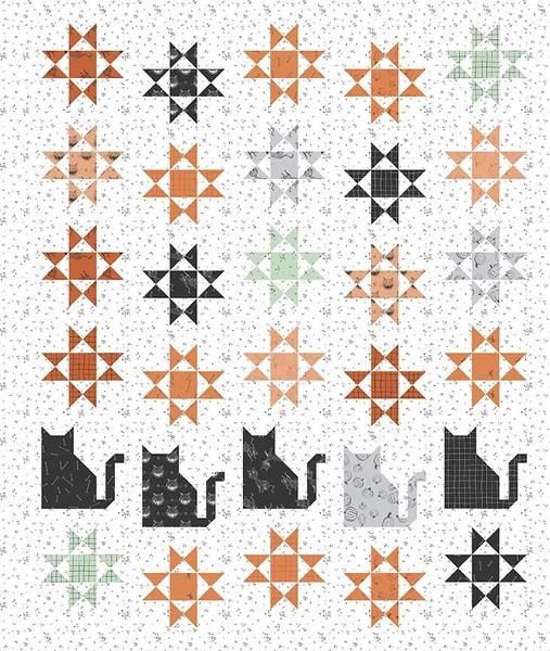 Amanda Niederhauser Scaredy Cat Quilt Pattern