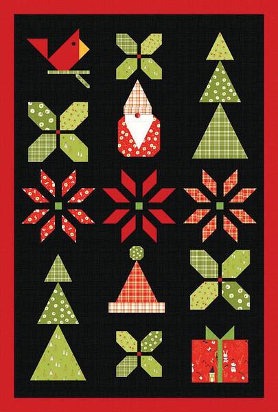 Sandy Gervais Christmas Sampler Quilt Pattern