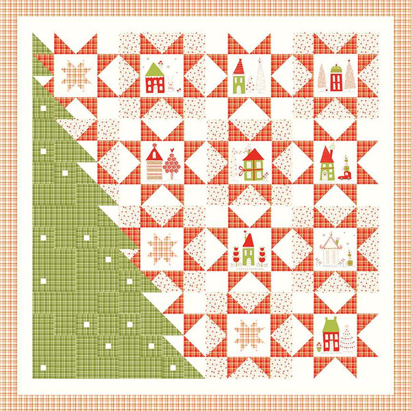 Sandy Gervais A Merry Little Christmas Quilt Pattern