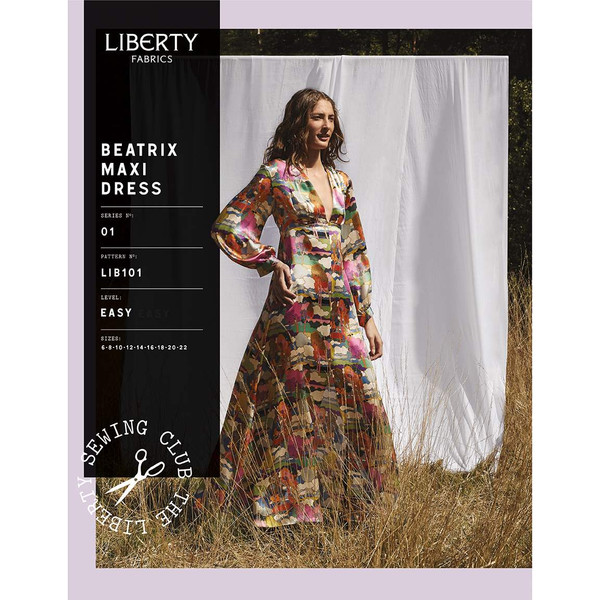 Liberty Fabrics Beatrix Maxi Dress Pattern