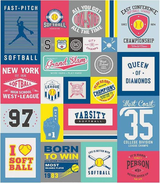 Varsity Softball Panel 56x64