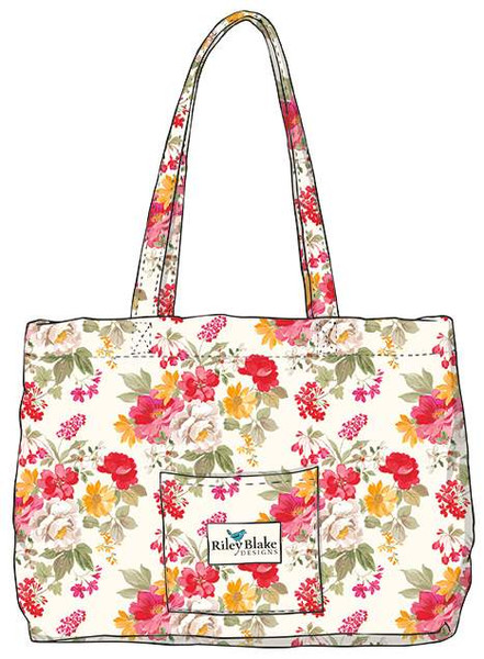 Farmhouse Floral Quilted Bag