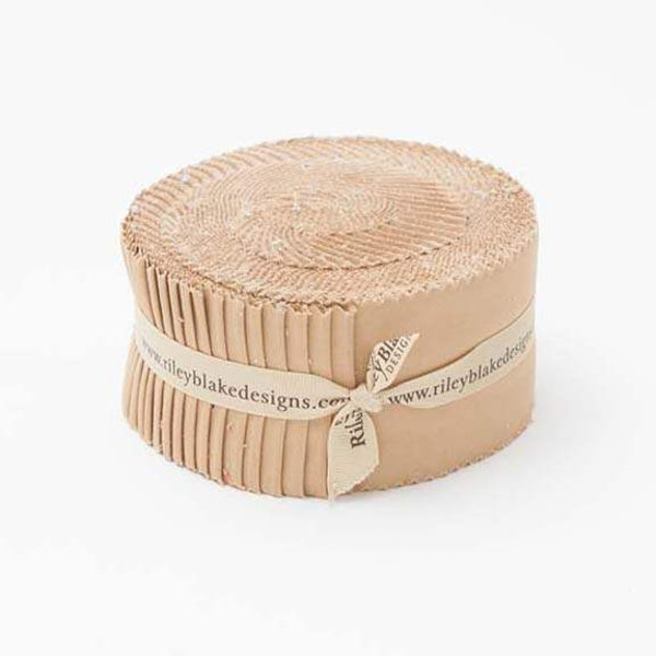 Confetti Cottons Nutmeg 2 1/2 inch Rolie Polie