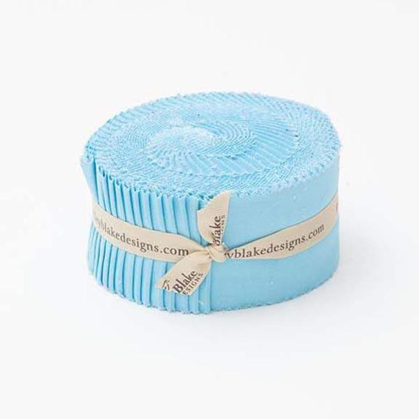 Confetti Cottons Riley Aqua 2 1/2 inch Rolie Polie