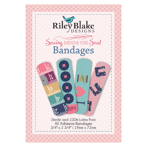Riley Blake Notions Sewing Mends the Soul Bandages