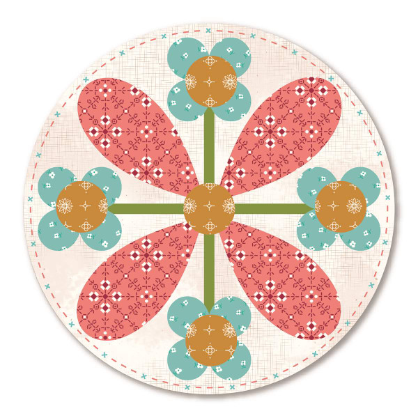 Lori Holt Granny Chic Coasters