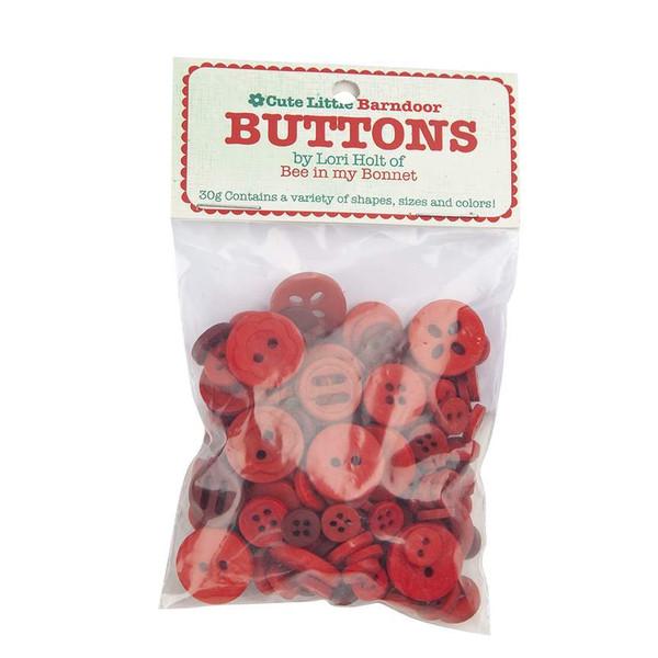 Lori Holt Cute Little Buttons Barndoor