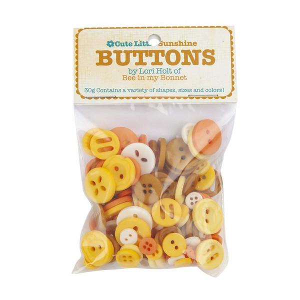 Lori Holt Cute Little Buttons Sunshine
