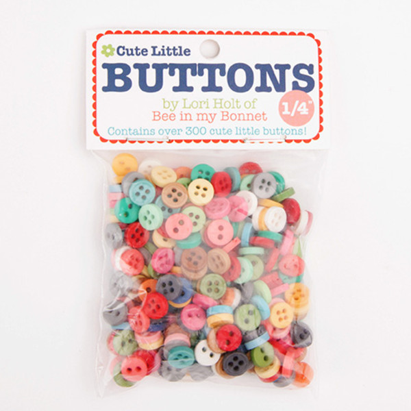 Riley Blake Lori Holt 1/4 inch Cute Little Buttons STB-6023