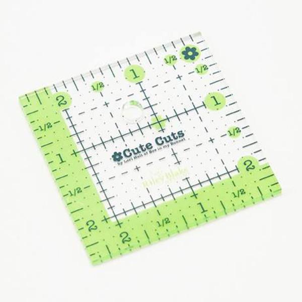 Cute Cuts Ruler 2 1/2 inch x 2 1/2 inch
