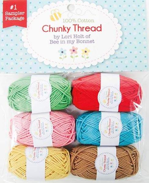 Lori Holt Chunky Thread #1 Sampler Package