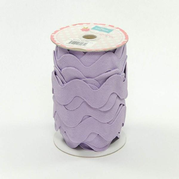 Jumbo Ric Rac Lavender 1 1/2