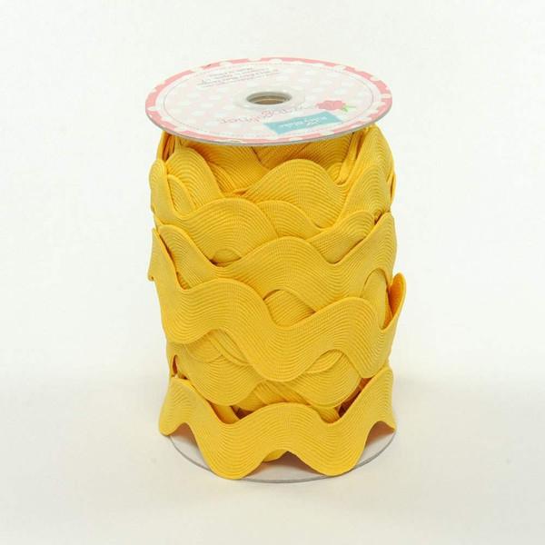 Jumbo Ric Rac Yellow