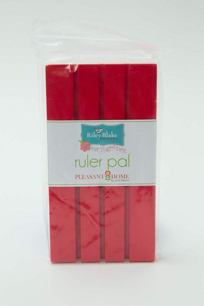 STRP-4976 Ruler Pal Red 7-1/2