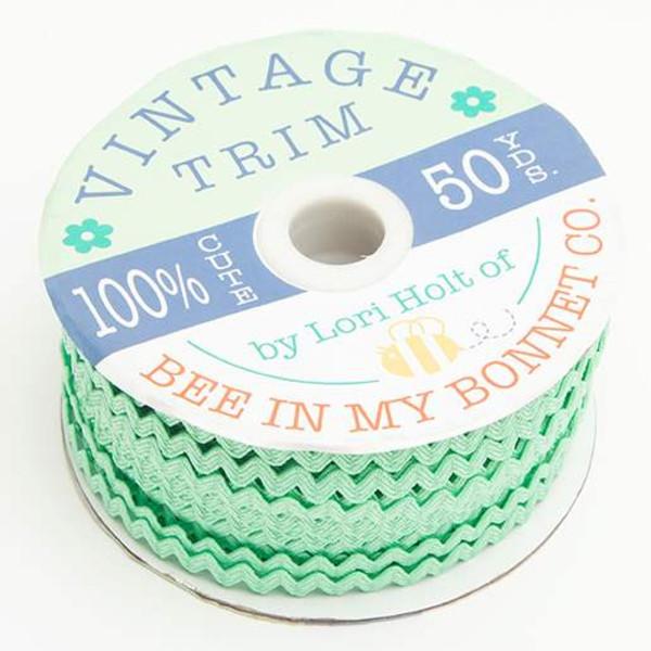 Lori Holt Vintage Trim Small Sweet Mint - copy