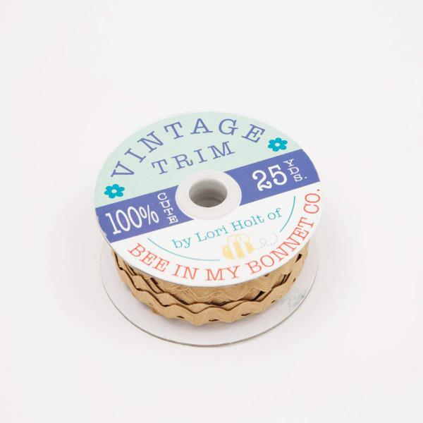 Lori Holt Vintage Trim Large Nutmeg